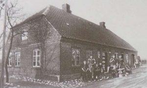 Die Pachtschmeide des Gutes Kasmark um 1910